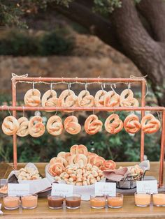 Wedding Food Pretzel bar idea for wedding reception food station - Treat guests to one of these awesome DIY food stations. Unique Wedding Food, Wedding Food Bars, Wedding Snacks, Wedding Food Stations, Wedding Catering, Unique Weddings, Romantic Weddings, Country Weddings, Summer Weddings