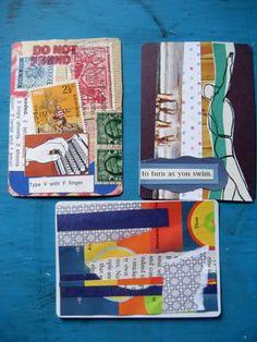 postalpop:   Artist trading cards (ATCs)