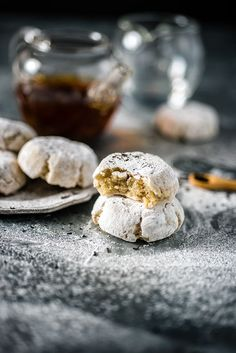 Earl Grey Ricciarelli Cookies and Jing Tea Giveaway | supergolden bakes