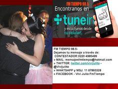 El Magazin de Merlo: HOY RADIO, FM TIEMPO 98.5 Desde Mariano Acosta, Me...