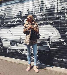 Claartje Rose, Dutch Blogger, leopard