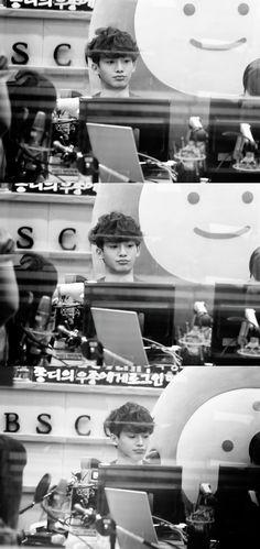 kim jongdae is bored