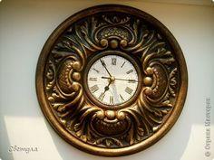 Доброго времени суток, Страна!!! Вот теперь и у меня есть старинные часы. А началось все с того, что увидела я замечательный  мк  http://stranamasterov.ru/node/780363  и как раз моя подруга заказала мне сделать ей часики... И я не долго думая взялась за работу....  фото 1