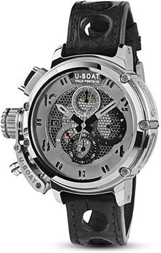 01656607eba0 Amazon.com  U-Boat Chimera Net Tungsten 8065  Watches Relojes De Lujo