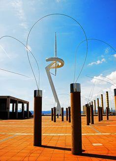 Olympic Park, Barcelona, Spain