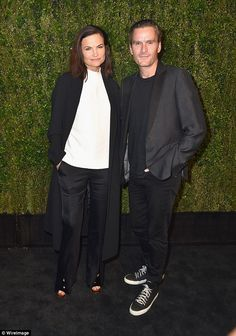 Also in attendance: Rosetta Millington (left) and Balthazar Getty (right) were there on th...