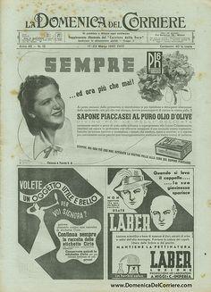 Domenica del Corriere - 17 / 23 Marzo 1940 | da Illustrated History - Domenica del Corriere
