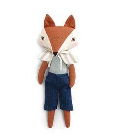 Abigail Brown Fox Soft Toy