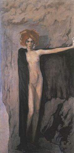 Romaine Brooks. La marquise Casati 1920