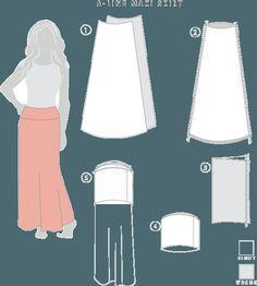 Maxi Skirt - the math