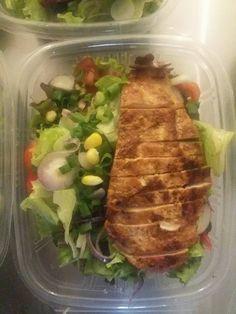 Peppazing Salads, Meat, Chicken, Food, Essen, Meals, Yemek, Salad, Eten
