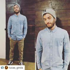 Consigue el look completo en CIENTO-SIETE shop!!! Gorro HUF, camisa VOLCOM, pantalones chinos REELL JEANS, zapatillas LE COQ SPORTIF OMEGA X MESH.. #huf #volcom #reelljeans #lecoqsportif #streetwear #urbanstyle #ourense #moda #fashion #galicia #cientosiete