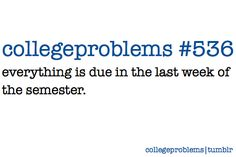 college problems
