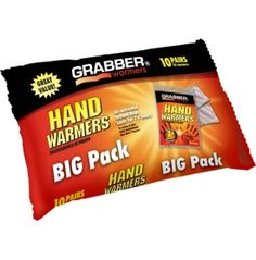 Grabber Big Pack Hand Warmers (10 Pair)