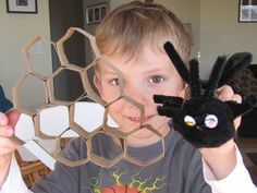 Structure of a honeycomb. School Time Snippets: FIAR: The Bee Tree