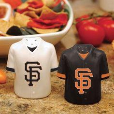 San Francisco Giants Gameday Ceramic Salt & Pepper Shakers