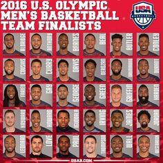 EUA anunciam 30 finalistas para os Jogos Olímpicos do Rio de Janeiro e3bfd350621ce