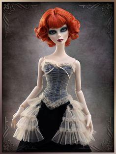 Cobwebs & Tulle Bustier - Evangeline Ghastly Archive - Wilde Imagination Archive - Wilde Imagination