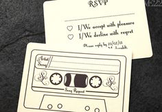 song request on the RSVP