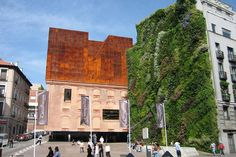 Museum Caixa Forum and the Living Wall, Madrid