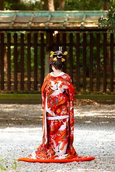 Japanese Shinto bride (Hayanome) : Meiji Jingu, Tokyo, Japan / Japón by Lost in Japan, by Miguel Michán, via Flickr