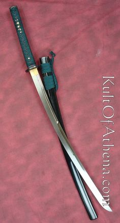 the cold steel dragonfly katana, i own one and it is a very tough blade but the saya or scabard is poor quality, Ninja Weapons, Anime Weapons, Fantasy Weapons, Weapons Guns, Katana Swords, Samurai Swords, Swords And Daggers, Knives And Swords, Cool Swords