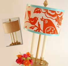 DIY Project Taking A Lampshade From Drab To Fab