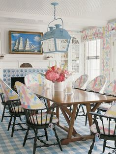 Country pastels & Delft tiles