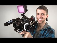 ▶ Affordable Film Gear ‪|‬ Slider and Shoulderrig - YouTube