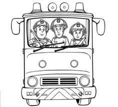 Coloriage Sam Le Pompier 18 Gratuit Imprimer En Ligne Sam Le