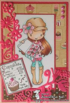 Craftychick Cards: My favourite stamp with Anyone for Anya?