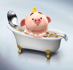 This Little Piggy, Little Pigs, Pig Illustration, Illustrations, Pig Drawing, Cute Piggies, Cute Pictures, Piglets, Advertising
