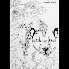 Proceso: nature  Leopardo  #instaartist #arte #art #artista #artist #artistontumblr #artistoninstagram #illustration #ilustracion #animal