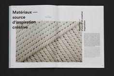 MAGAZINE INTÉRIEURS 61 by Caserne, via Behance