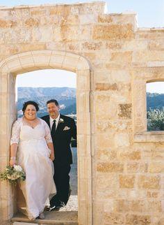 Sunstone Villa wedding ceremony. Photography: Erin Leigh - www.thebowerygirl.com  Read More: http://www.stylemepretty.com/california-weddings/2014/04/01/romantic-vintage-wedding/