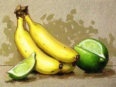 bananas by Clinton Hobart