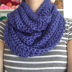 Bufanda Infinita Circular Tejida a Crochet (Frida) | @LasVaretasCrochet