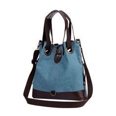 Bags for Women, Fashion Canvas Dating Casual Shoulder Bags Cross Body Bags Tote Handbag Blue. Senior durable sturdy canvas, retro simple style. Removable and adjustable shoulder straps, can be used as shoulder bag and cross body bag. 2 small zipper pockets for phone, passpord, wallet, coins and keys. Large storage space, can contain ipad, books, cellphone, wallet, umbrella, clothings and etc. Multifunctional, perfect for shopping, school, dating, beach trips, picnics, hiking and camping.