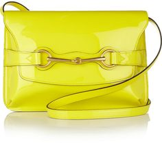 Bright Bit Leather Shoulder Bag - Lyst