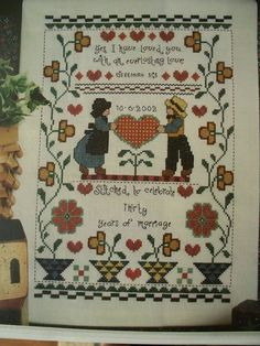 This is a CROSS STITCH PATTERN PAGE(s) ONLY that has been REMOVED from an OLD/OOP MAGAZINE (not the complete/entire magazine) that I picked up at an Garage, Yard or Estate Sale. I list my patterns as USED due to the magazine being pre-owned. | eBay!