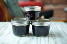 Honey Sweetened Blueberry Jam