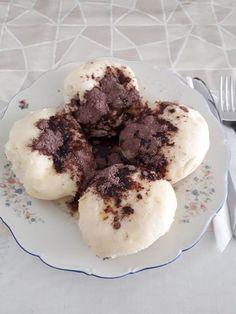 Párán főtt gombóc, az unokák nem tudják megunni ezt a finomságot! Oreo, Muffin, Breakfast, Food, Morning Coffee, Muffins, Meals, Cupcakes, Yemek