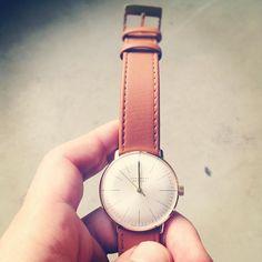 Max Bill wrist-watch by JUNGHANS. mine. I like a lot.