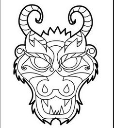 dragon colling pages | Chinese Dragon Boat Festival Coloring Pages | Family Holiday