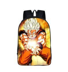 DBZ Goku Cast Kamehameha Power Blast School Backpack Bag  #DBZ #Goku #Cast #Kamehameha #Power #Blast #School #Backpack #Bag
