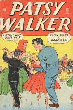 Vintage Comic Book - Patsy Walker #32