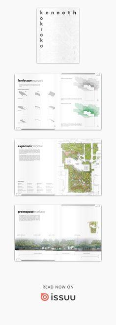 Kenneth Kokroko's Landscape Architecture Portfolio  Selected Works, 2015-2016