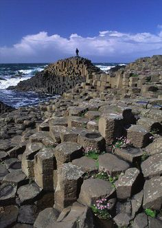 Giant's Causeway in Northern Ireland Can I please go back to Ireland, this was one of my favorite places