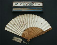 Japanese fan with case.