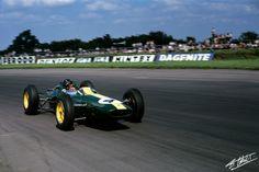 Clark 1963 England - Lotus 25 -